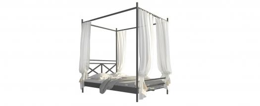 łóżko metalowe milena z baldachimem lozko metalowe milena z baldachimem łóżka metalowe lozka metalowe